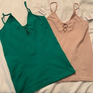 2 Free People Intimately tank tops for $20 NWT
